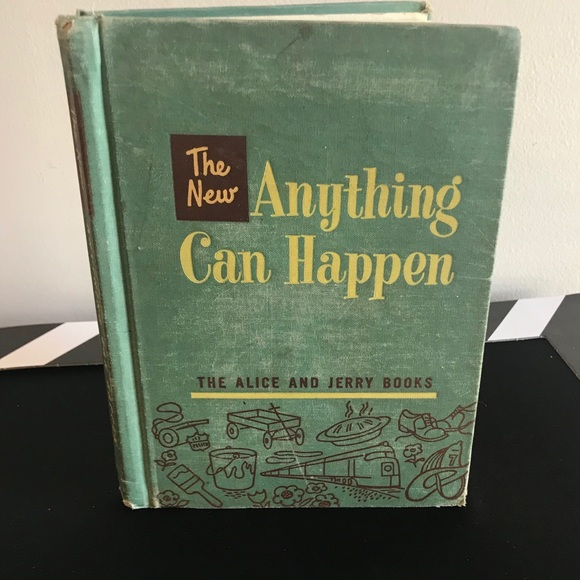 Vntg Alice And Jerry Book Anything Can Happen 1955